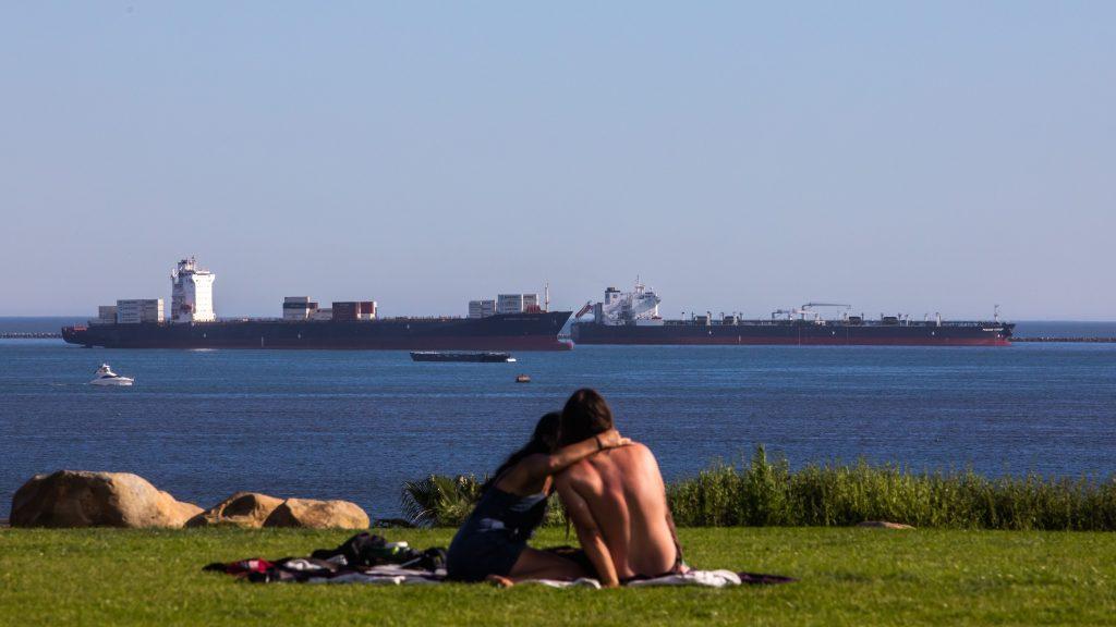 oil tankers California