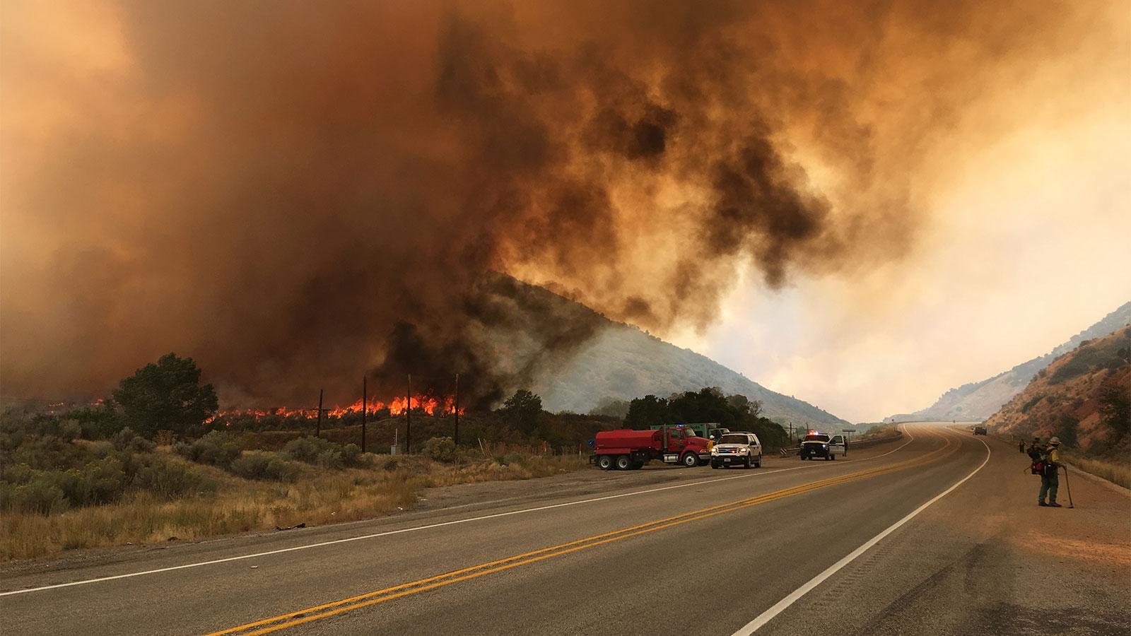 road-side blaze Utah