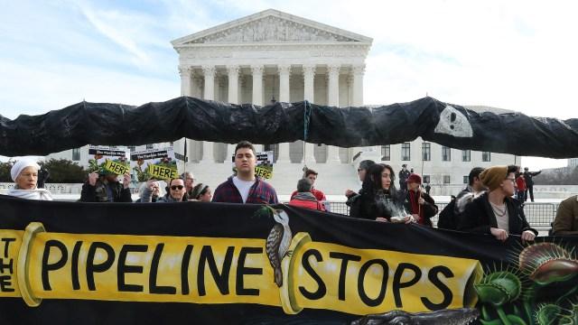Atlantic Coast Pipeline protest
