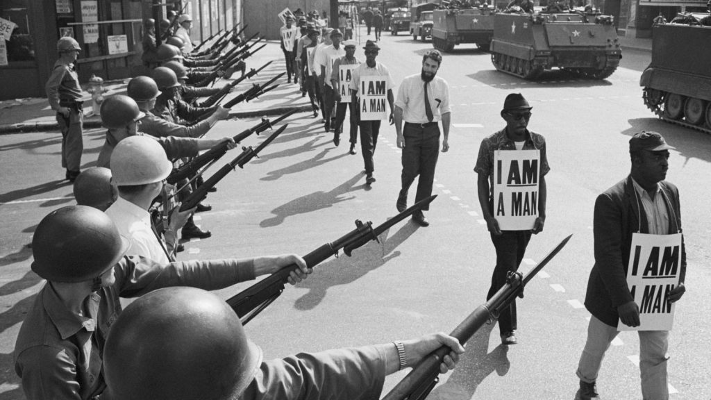 civil rights protest 1968