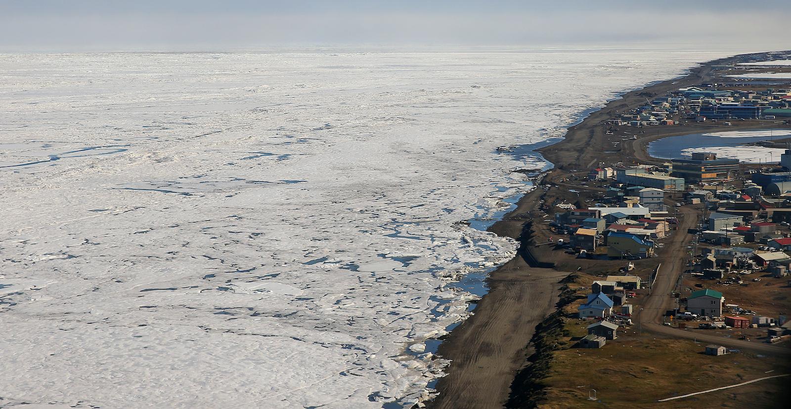 Barrow, AK ice