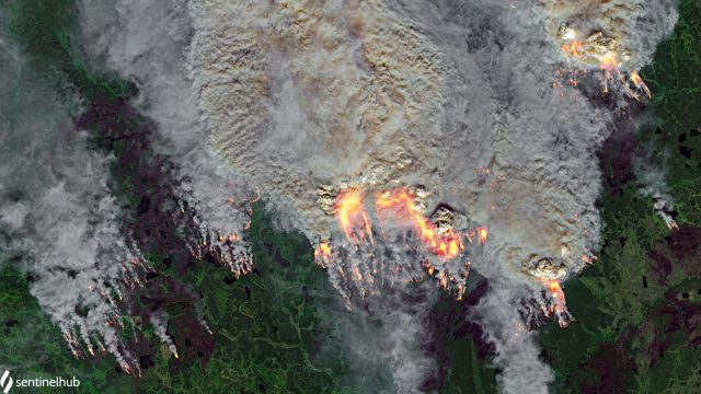 Wildfires in Sakha Republic