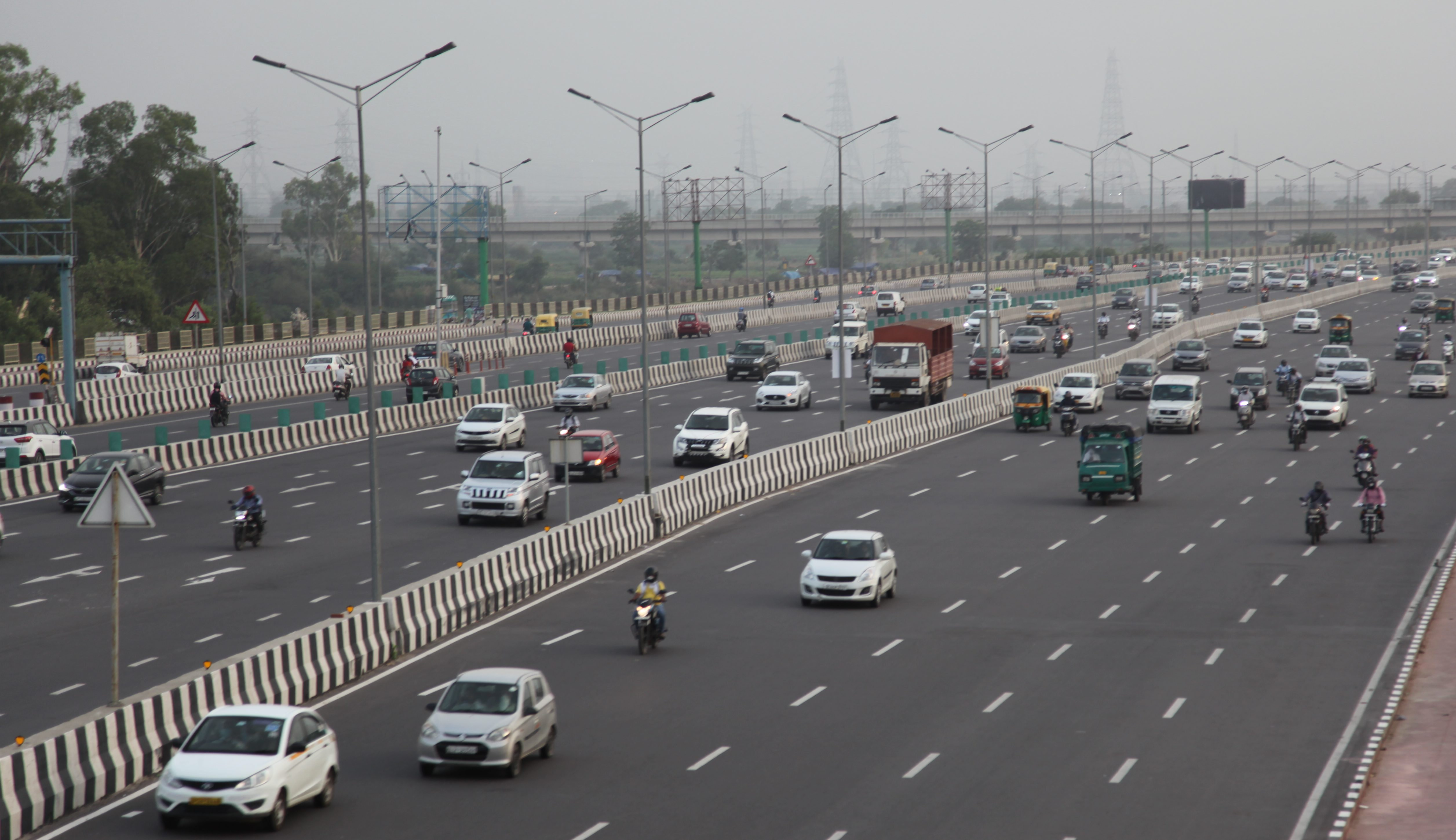 India highway traffic up post-lockdown