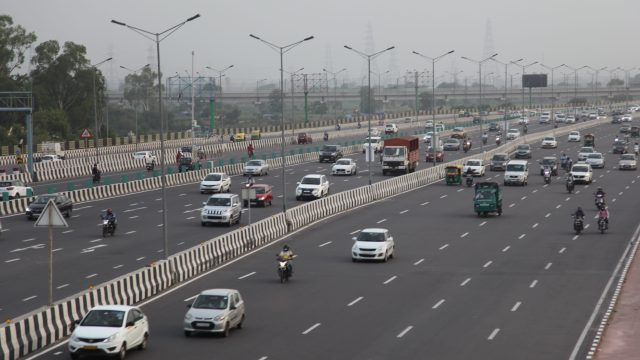 India highway traffic up post-lockdown