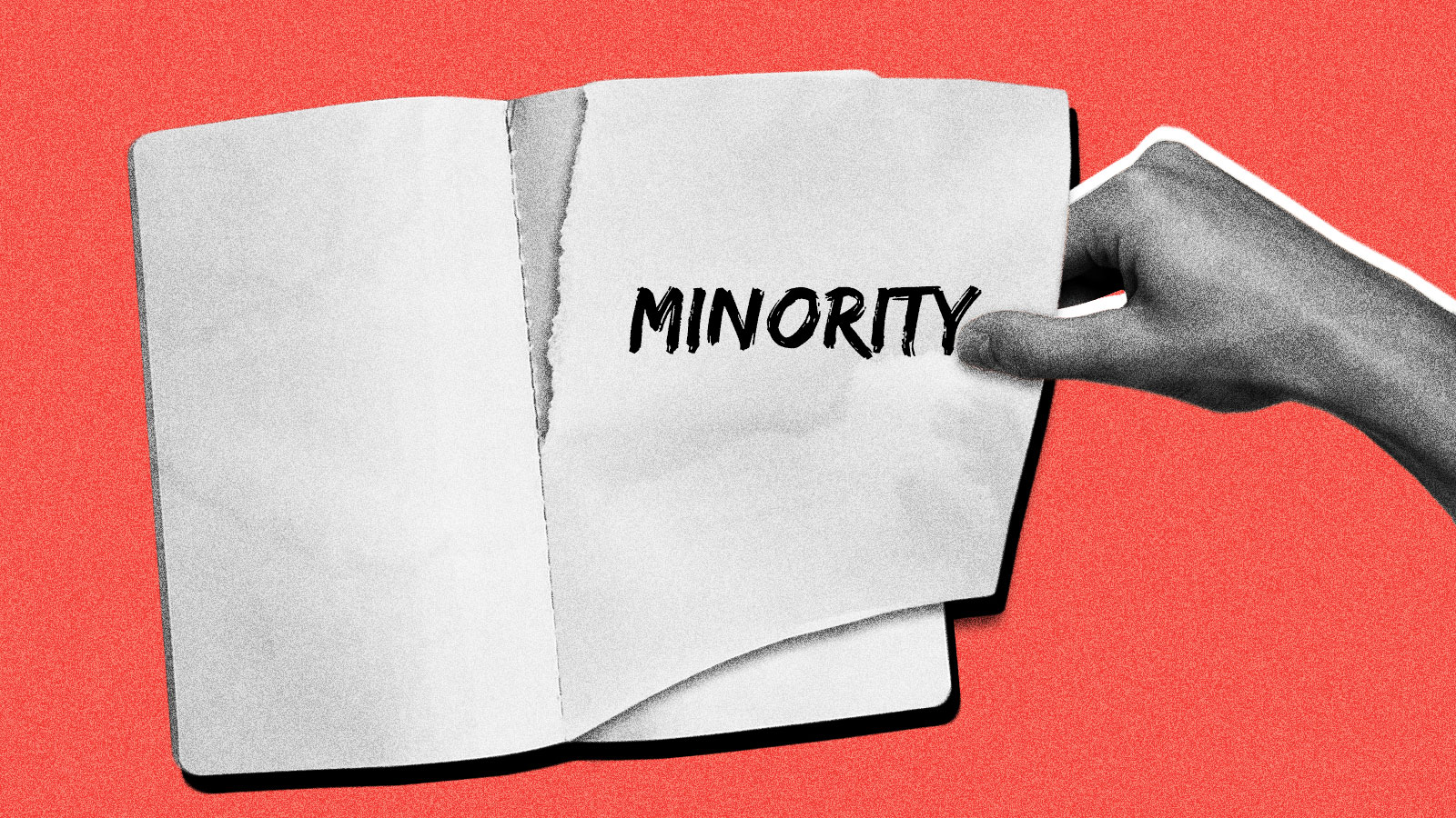 ripping 'minority' out of the dictionary