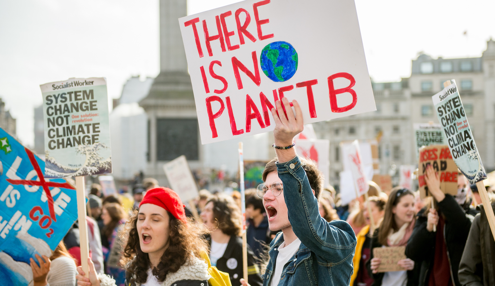 UK Students Strike Over Climate Change