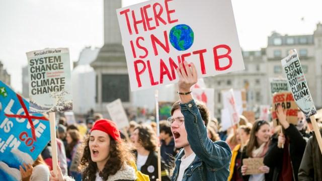 UK Students Strike Over Climate Change
