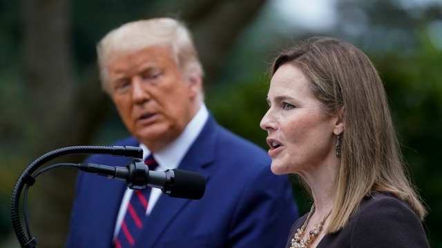 Trump nominates Judge Amy Coney Barrett for Supreme Court vacancy