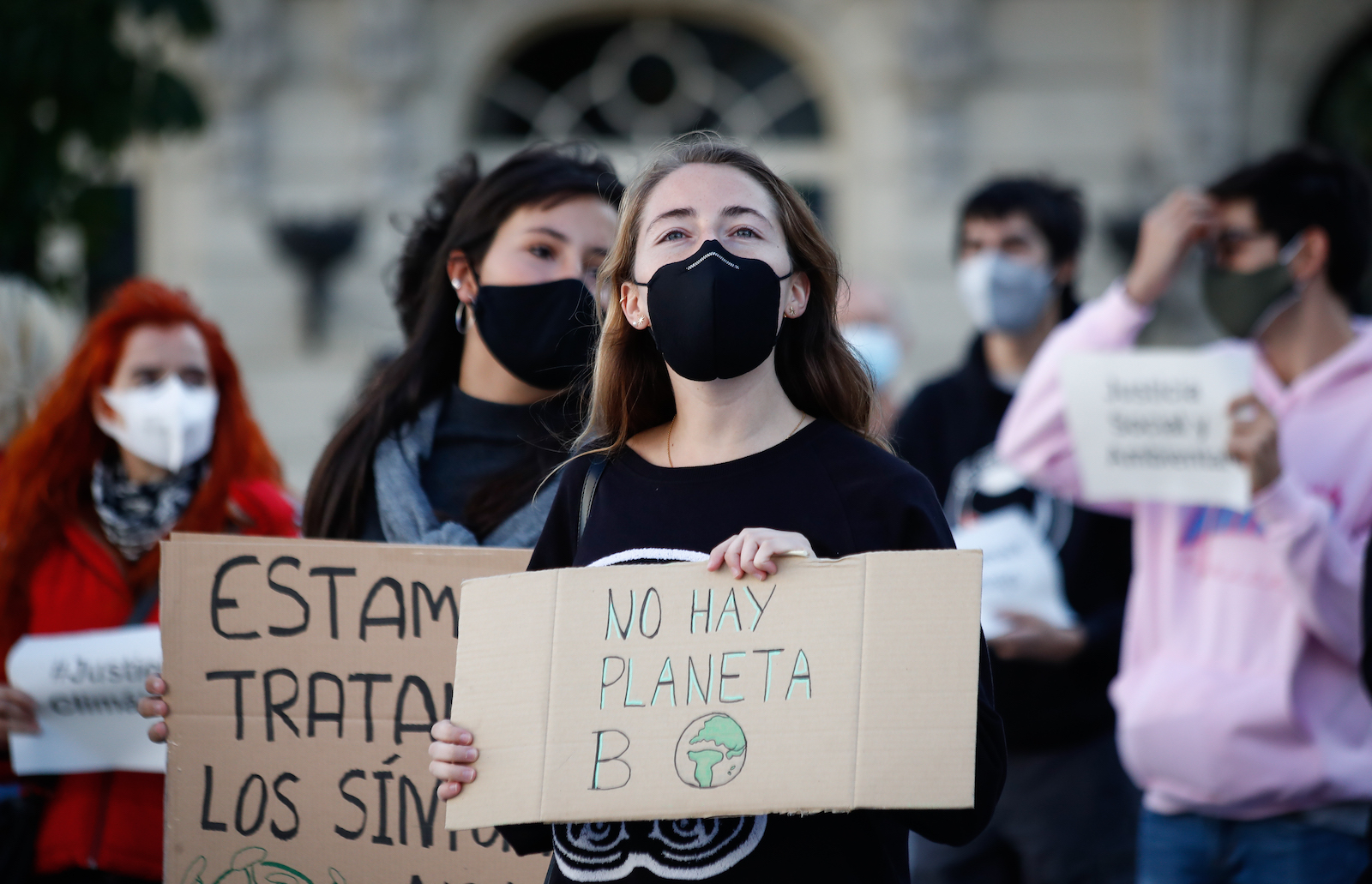 Despite COVID-19, young people resume global climate strikes