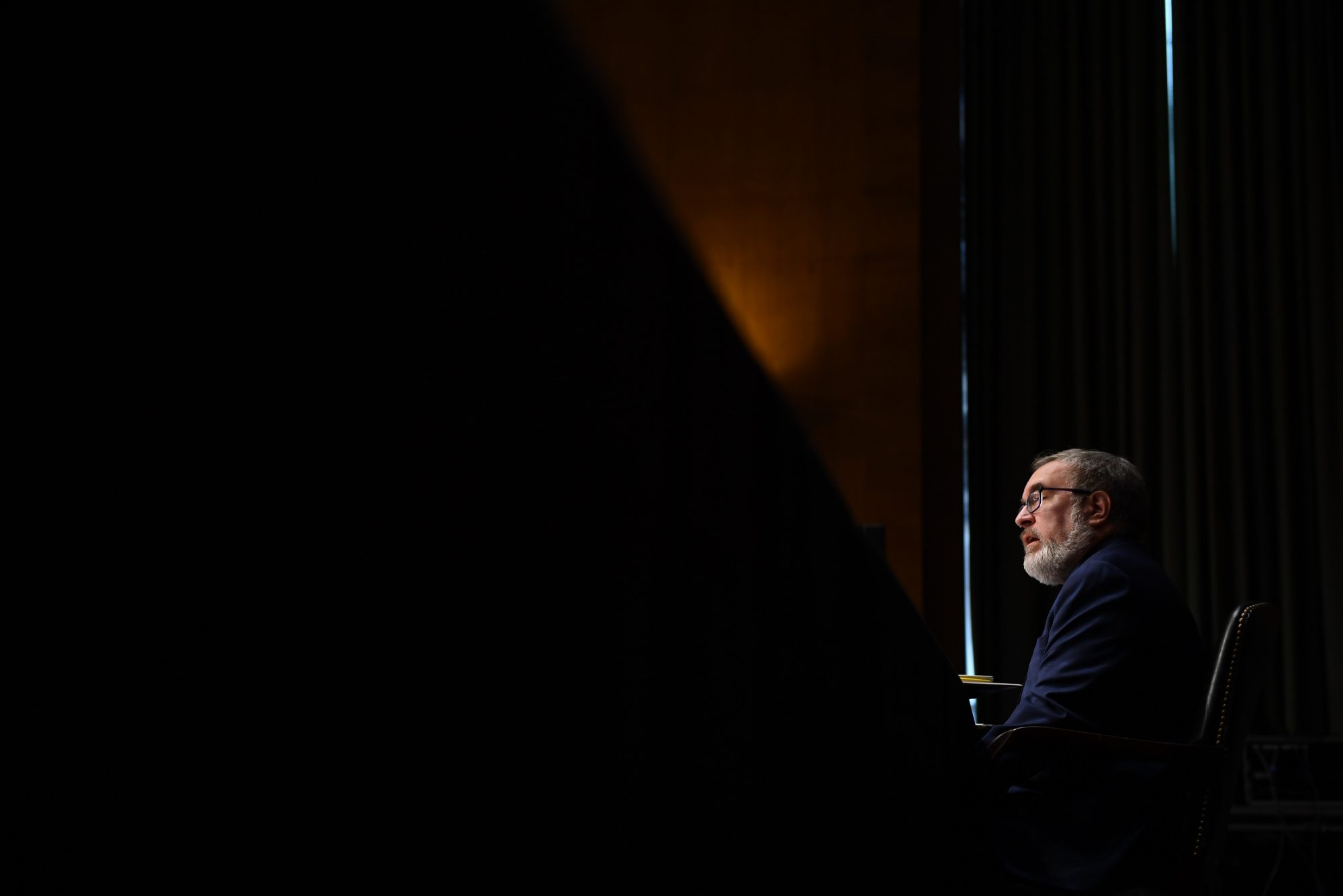 photo of EPA administrator Andrew Wheeler at oversight hearing