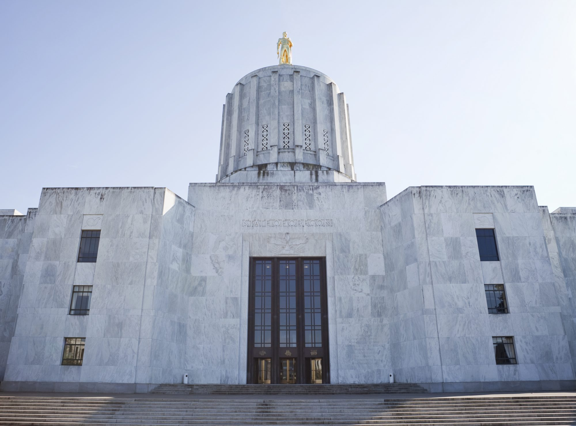 photo of Oregon state capitol