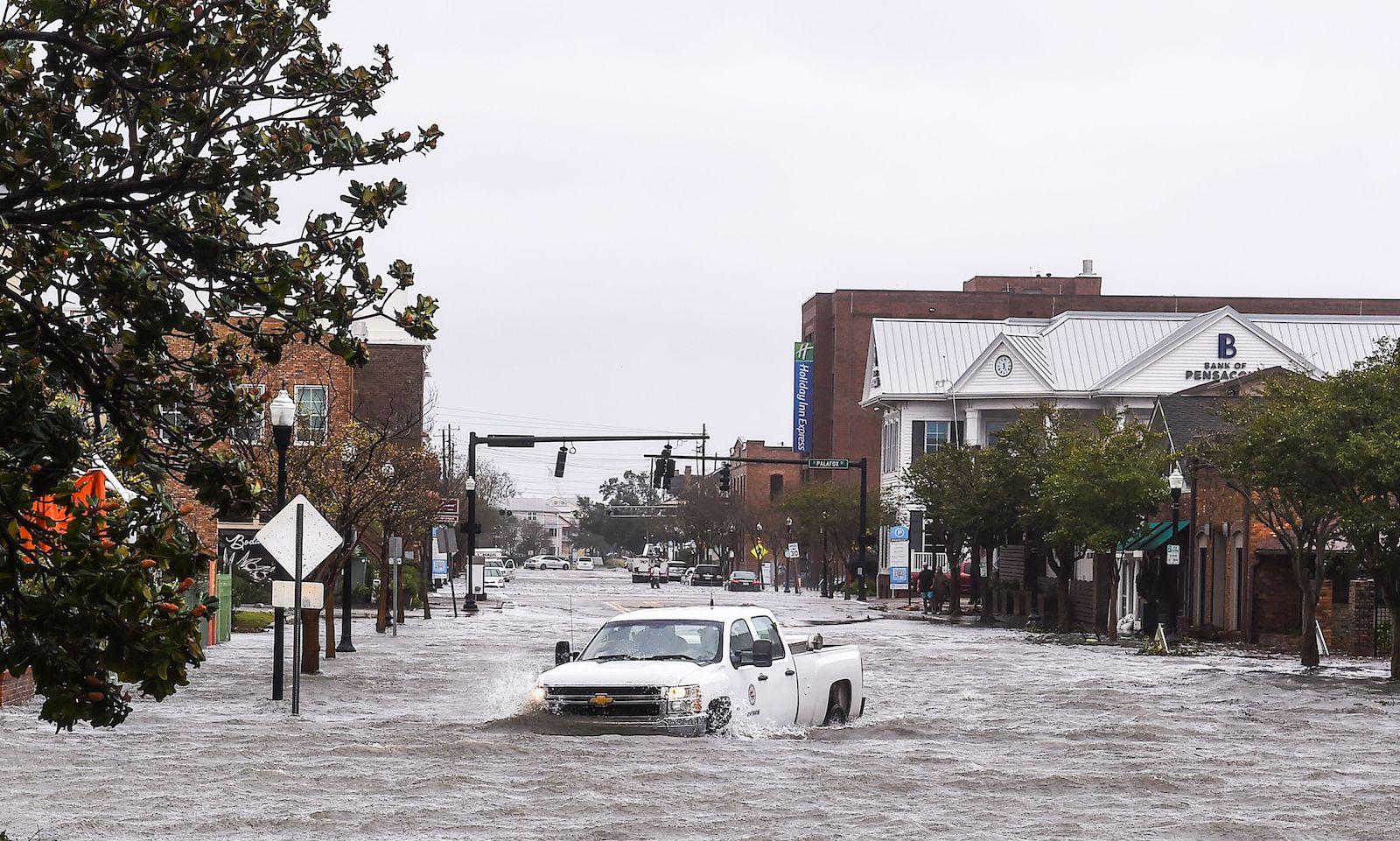 Hurricane Sally flooding in Pensacola