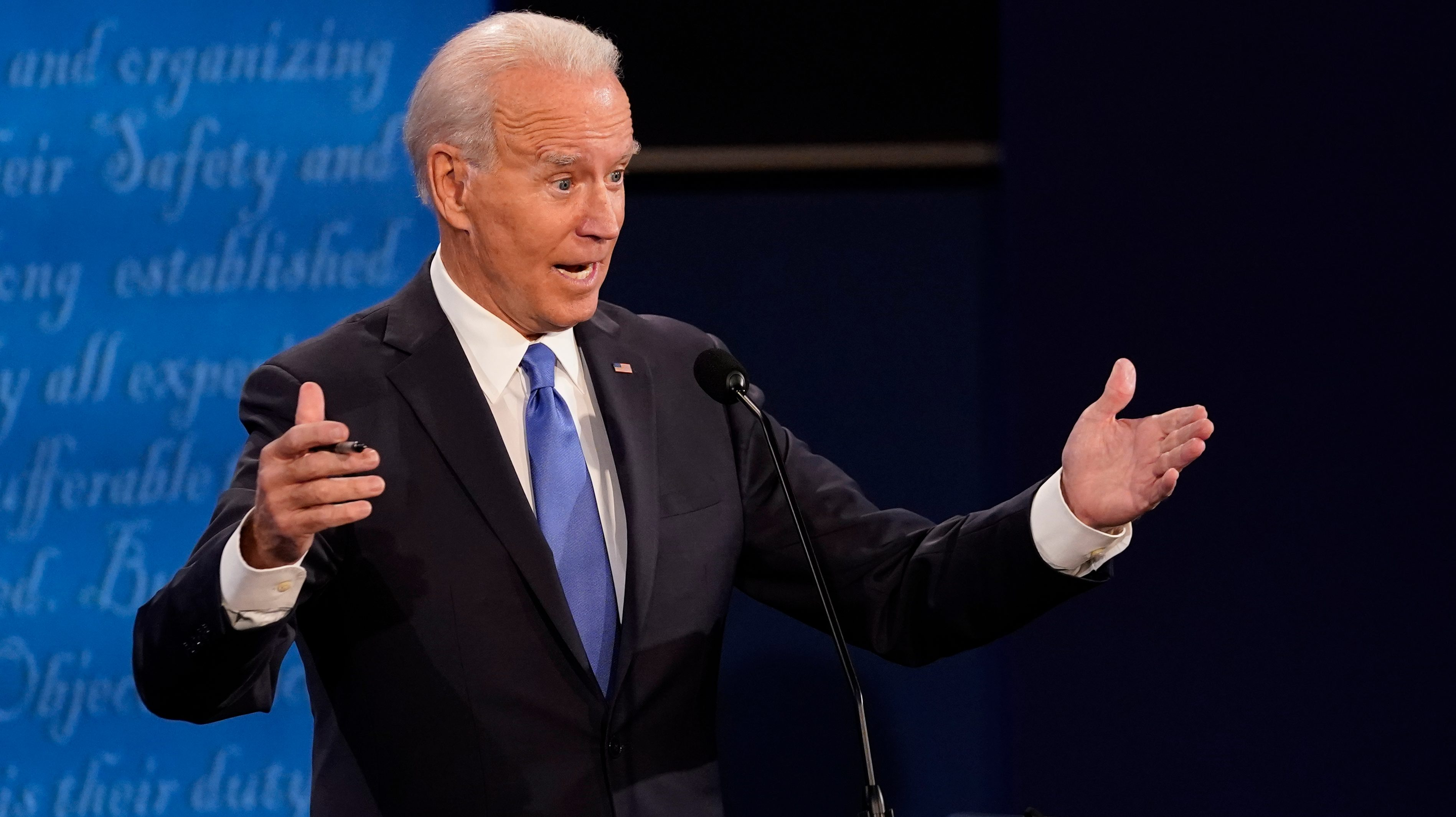 Joe Biden second presidential debate
