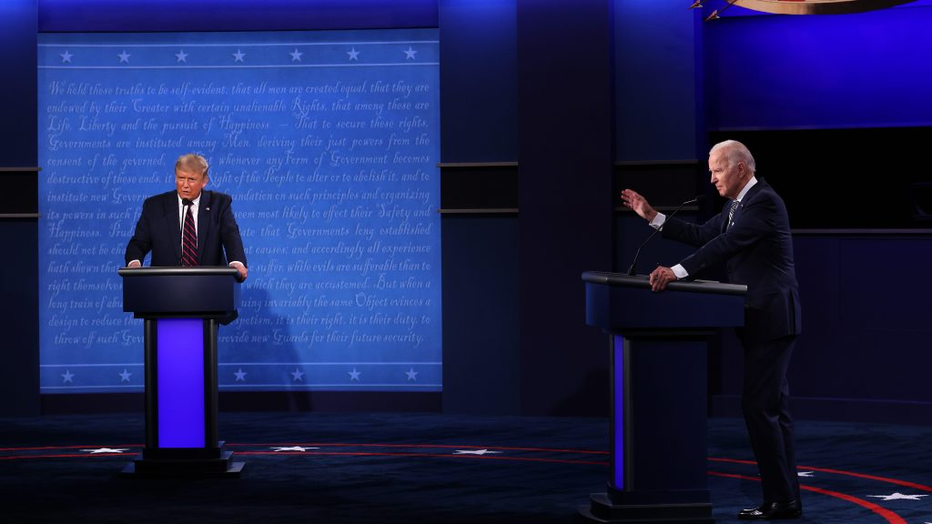 Not up for debate: It's time to ask Trump and Biden some serious questions on climate.
