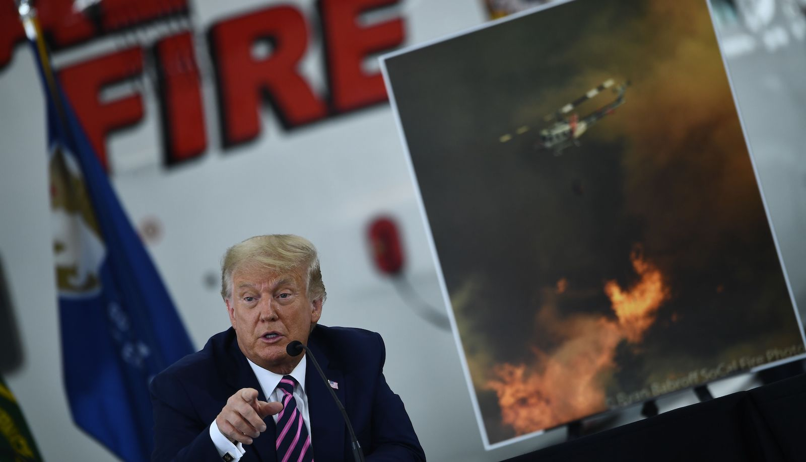 'Probably like 50-50': Trump privately admitted climate change fueled California's fires