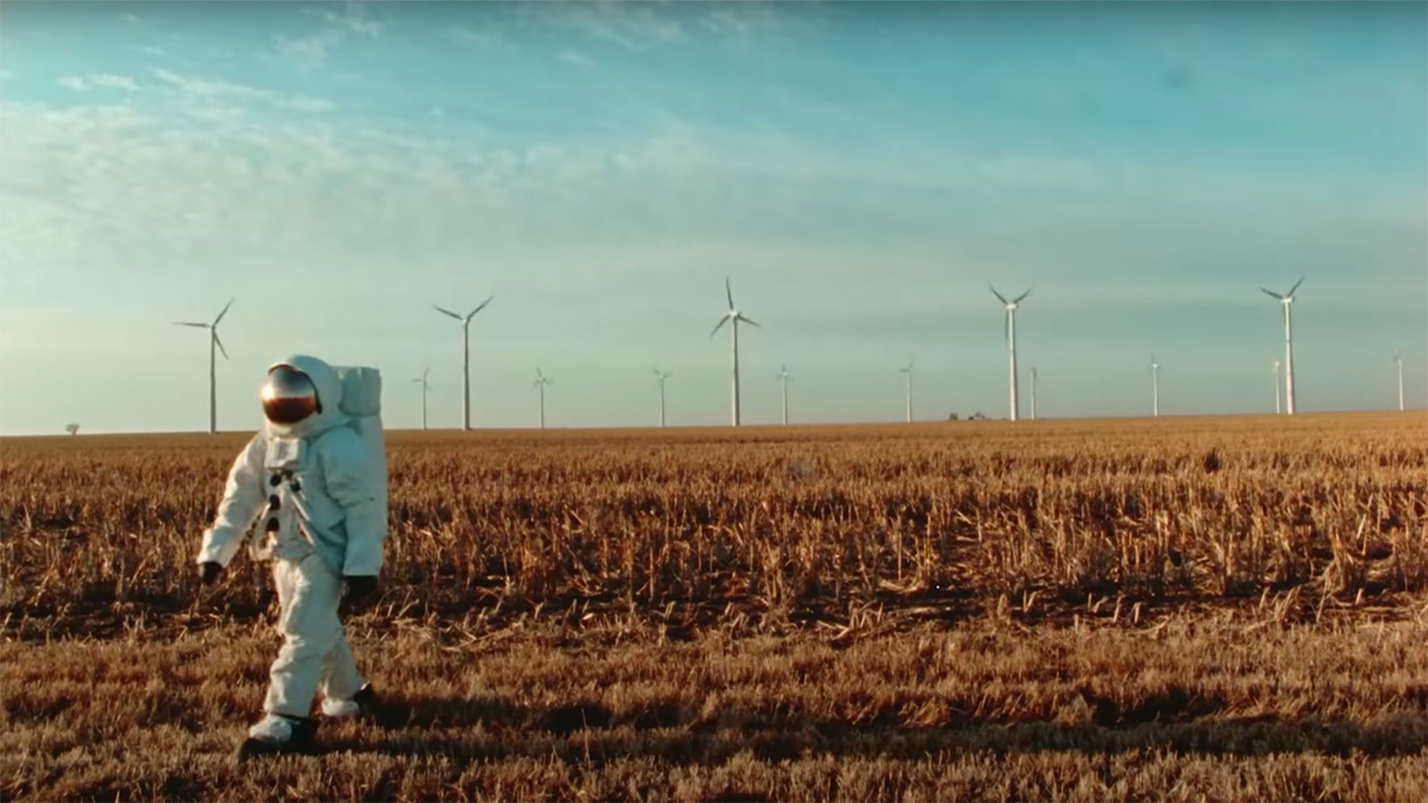 Is the lonely astronaut in Bad Bunny's newest video thinking about lost love or a lost environment? thumbnail