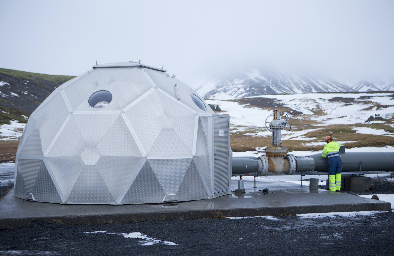 carbon capture in iceland