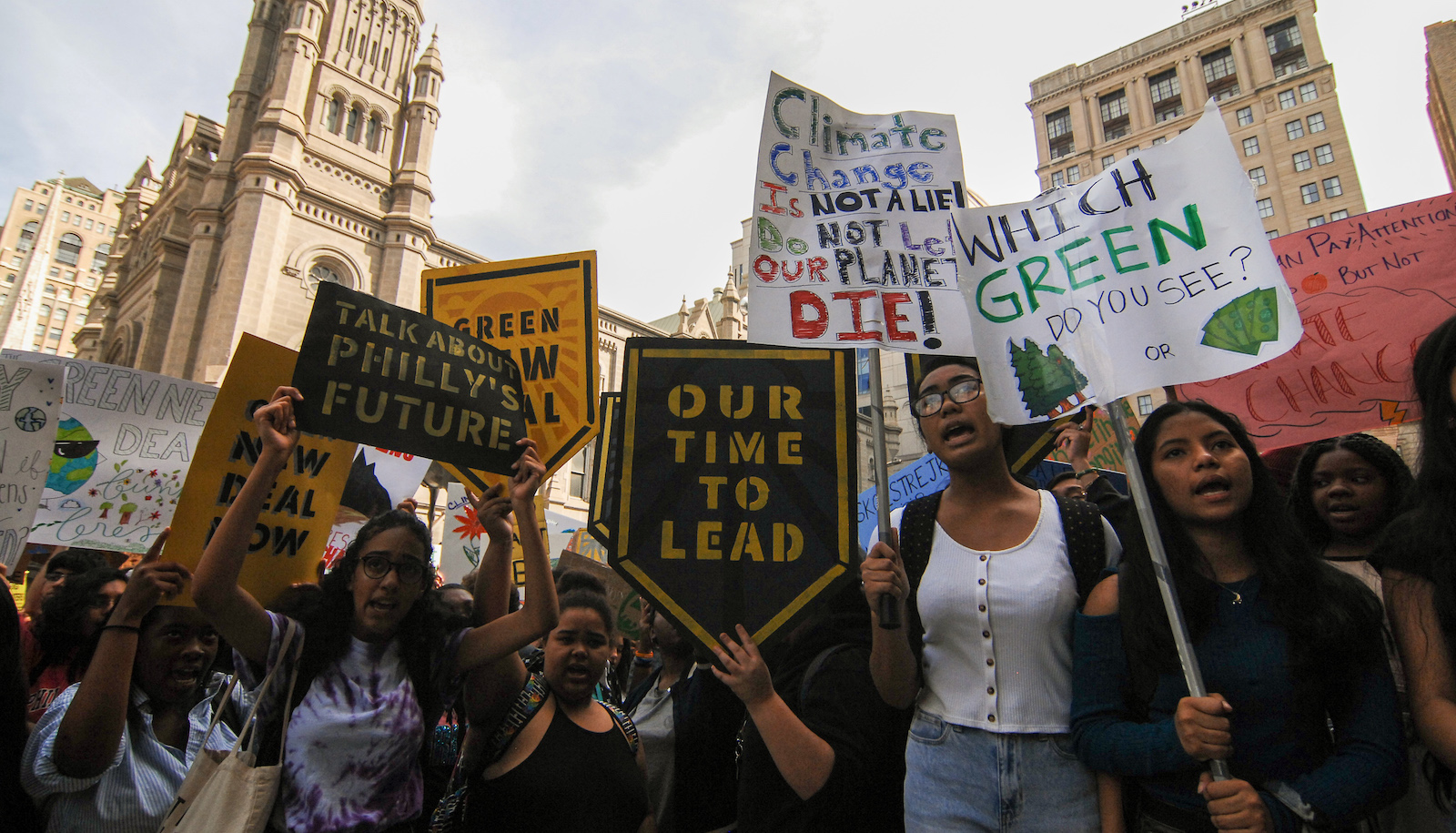 Global Climate Strike In Philadelphia