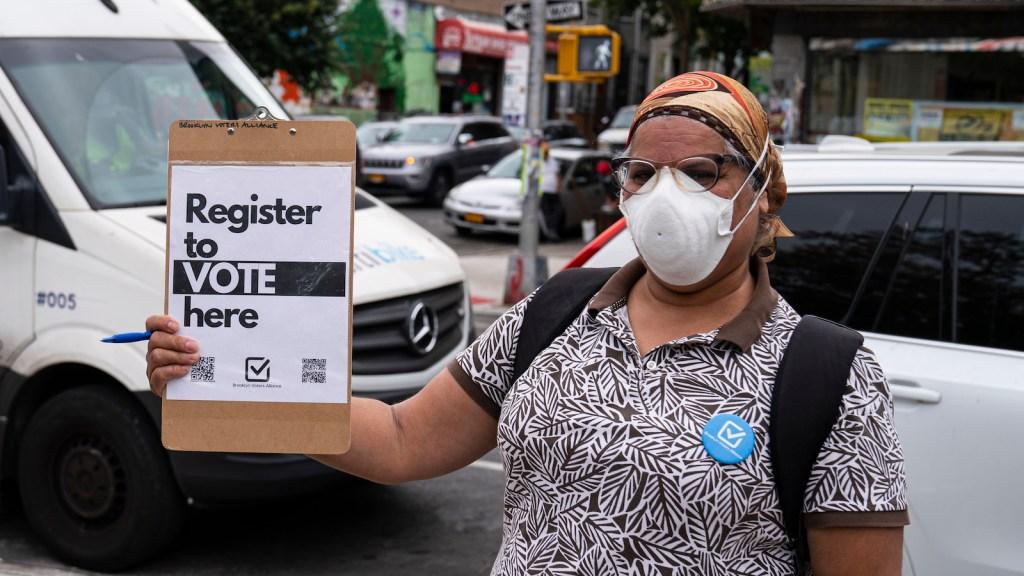Voter Registration In New York City