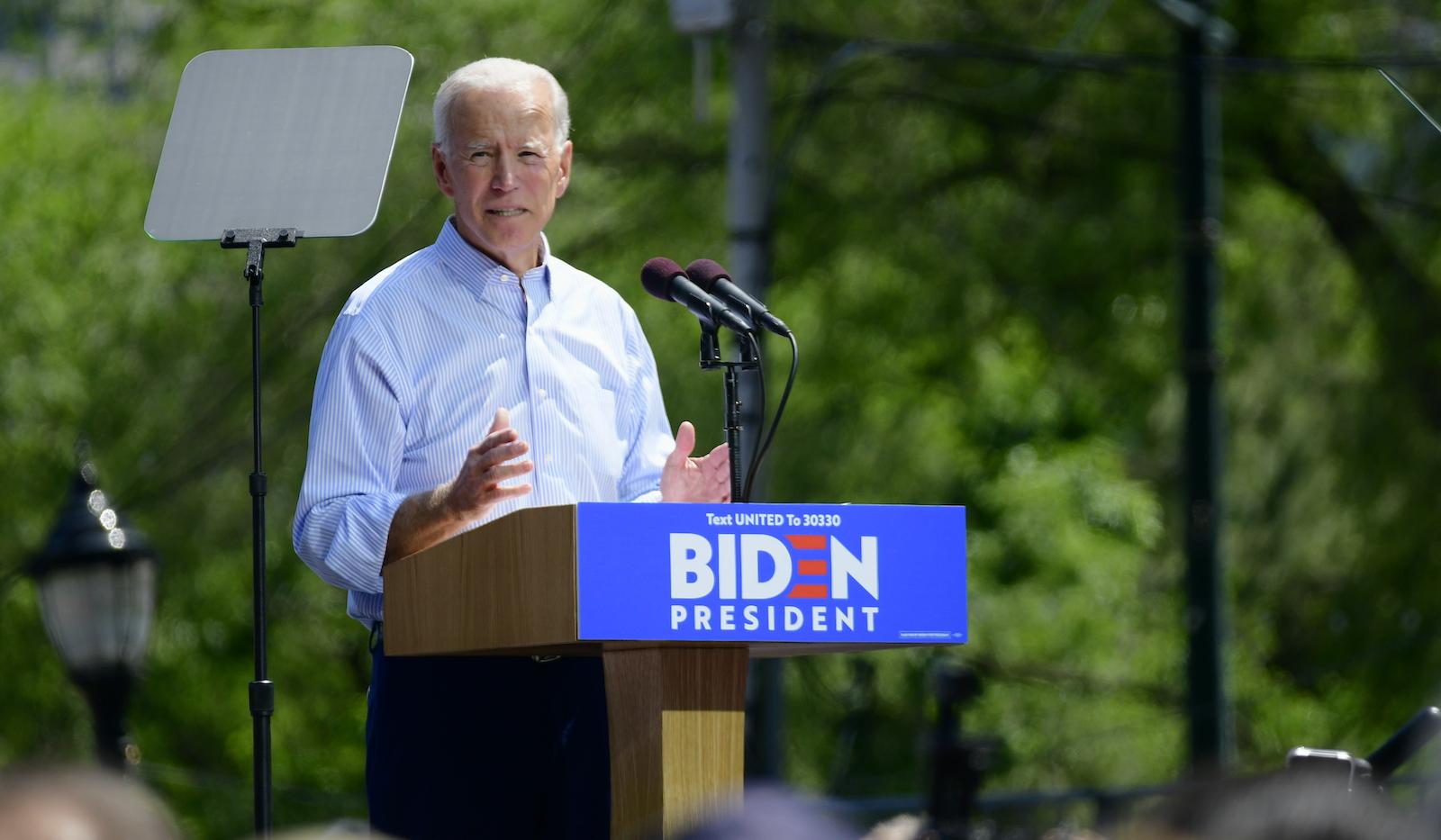 Biden Kicks Off Presidential Campaing in Philadelphia