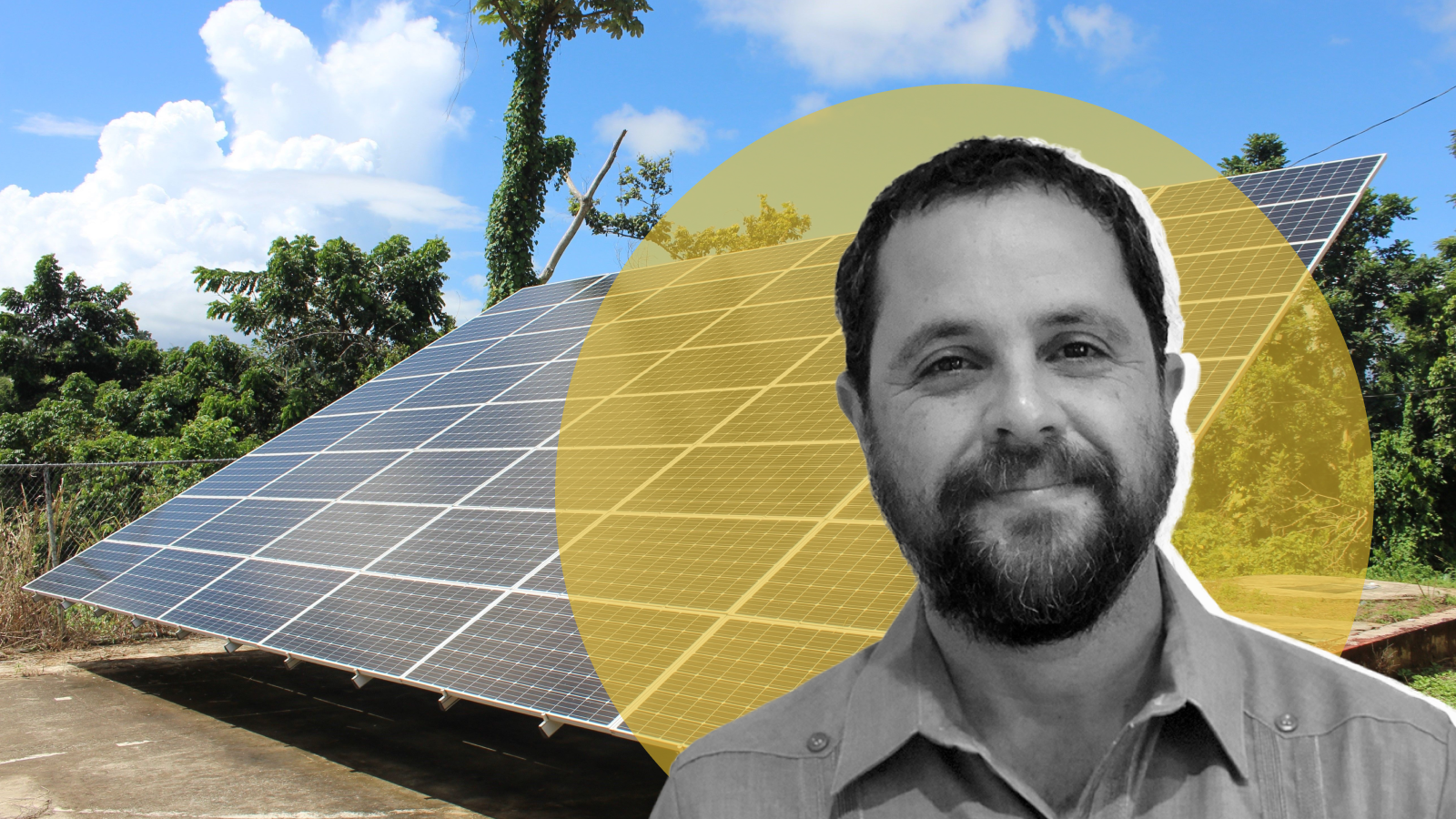 photo of He's bringing solar power to Puerto Rico — and political power to its people image