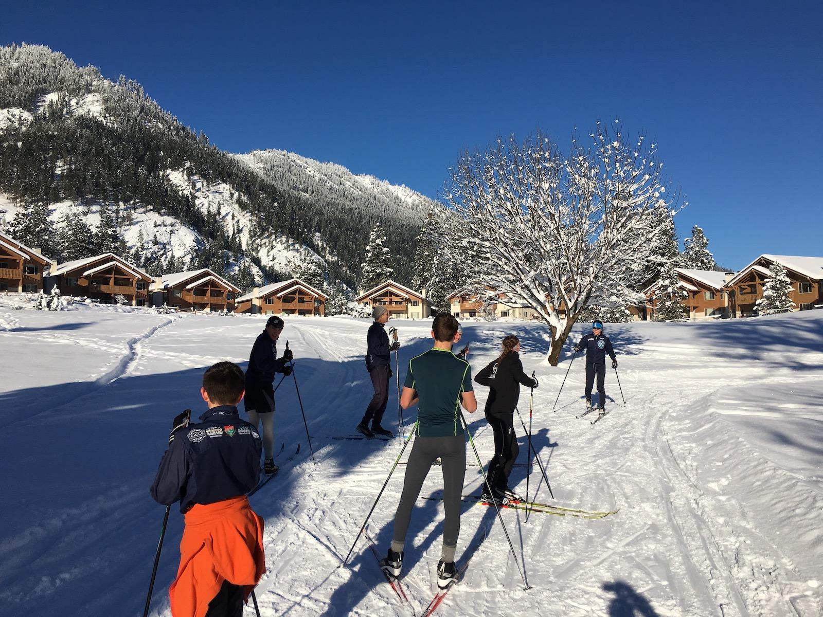 Leavenworth ski team
