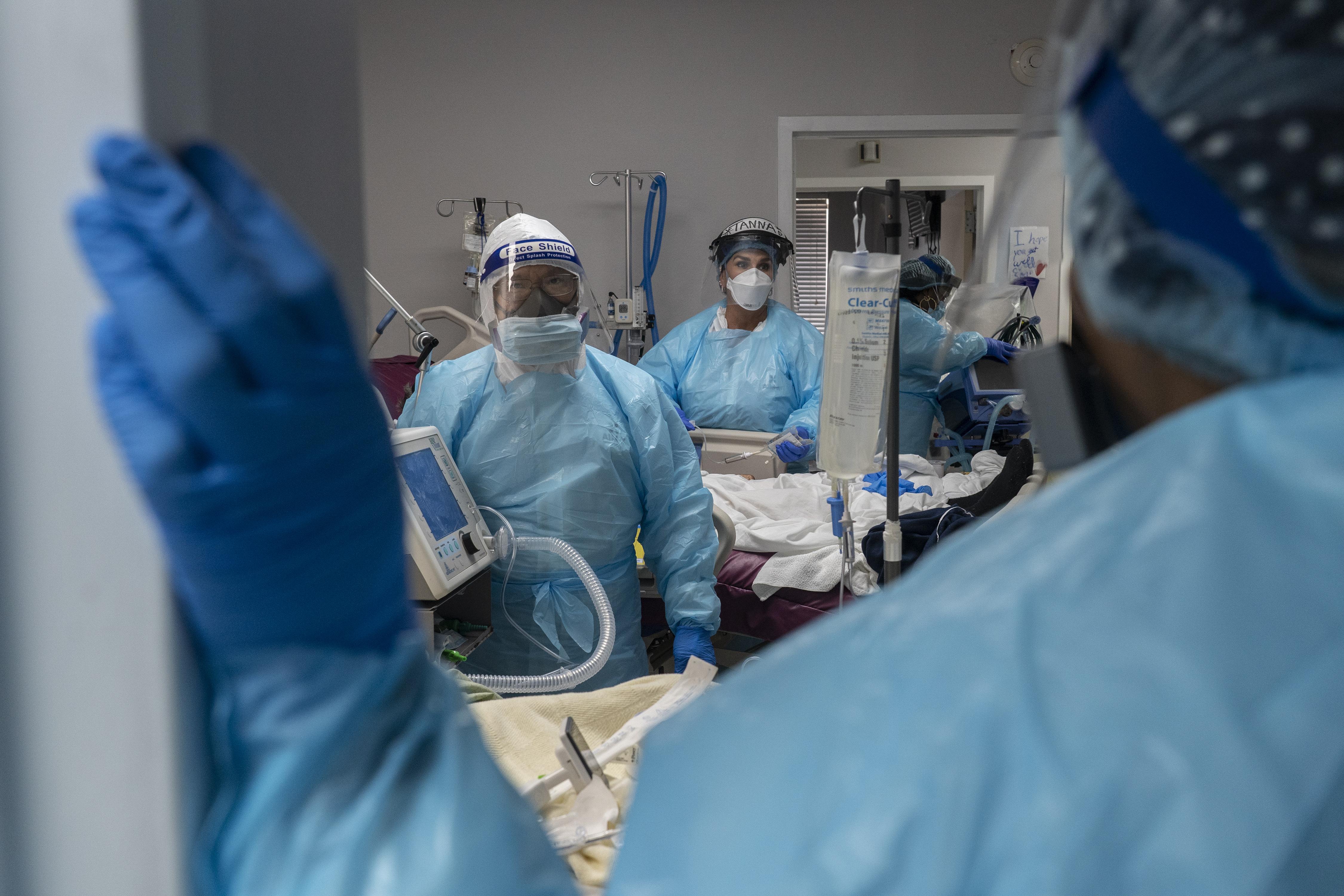 Houston hospital ICU COVID