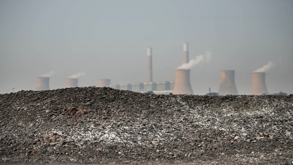 Coal fired power plant in South Africa