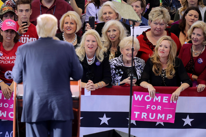 Women for Trump 2016 campaign
