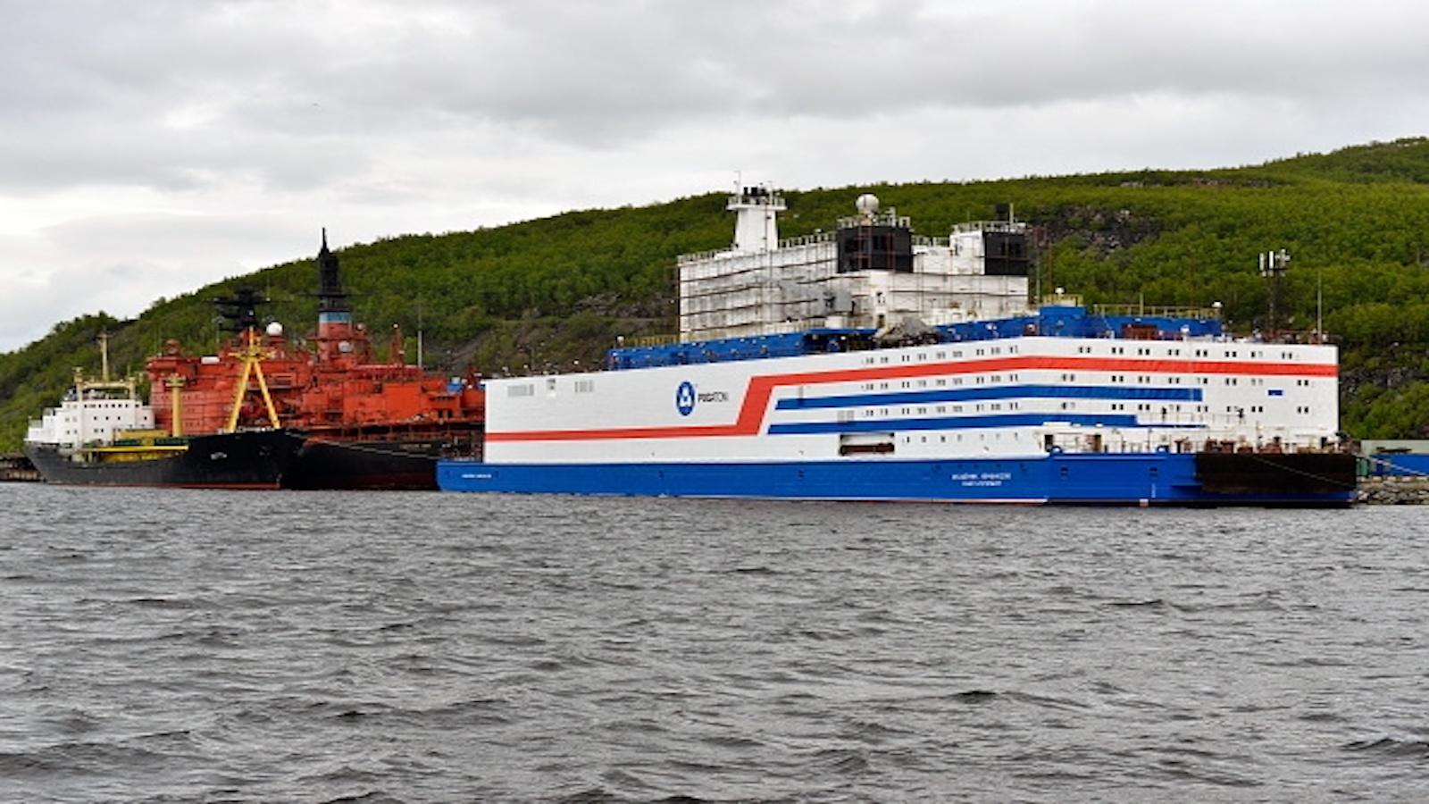 The Akademik Lomonosov Nuclear ship