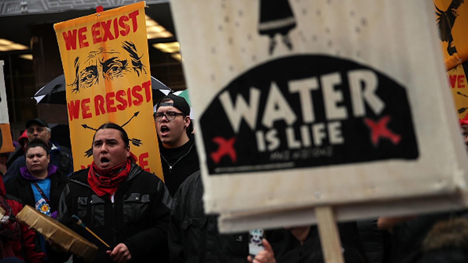 'No more broken treaties': Indigenous leaders urge Biden to shut down Dakota Access pipeline