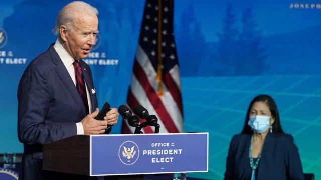President-elect Joe Biden Deb Haaland