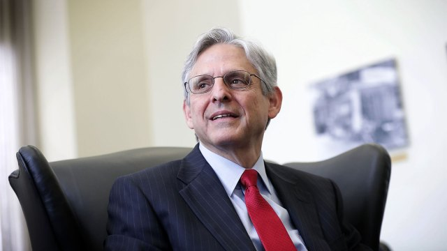Supreme Court nominee Merrick Garland