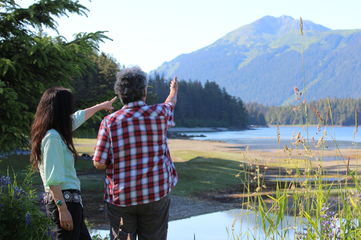 WECAN employees survey the Tongass forest