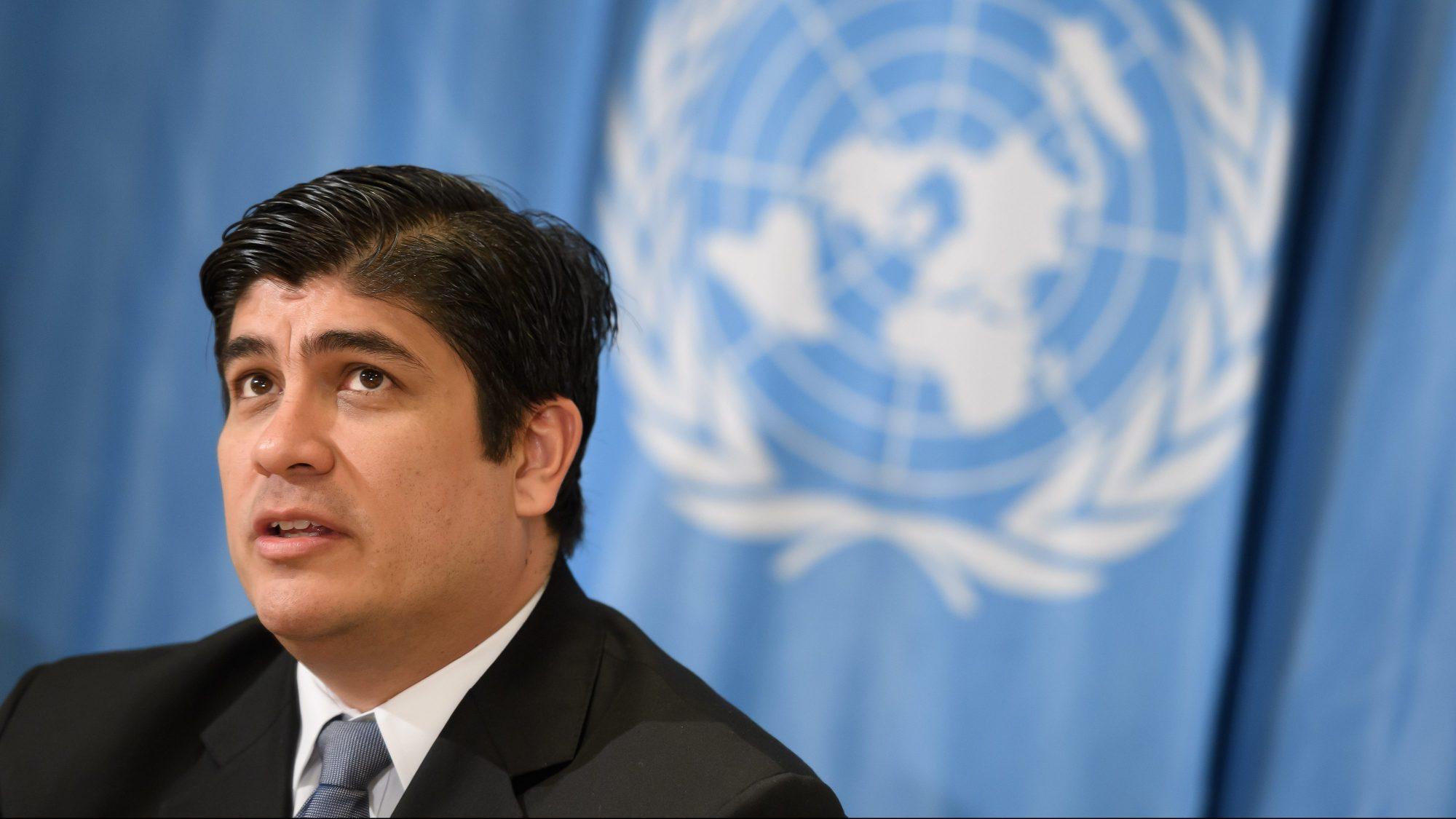 Costa Rica President Carlos Alvarado Quesada