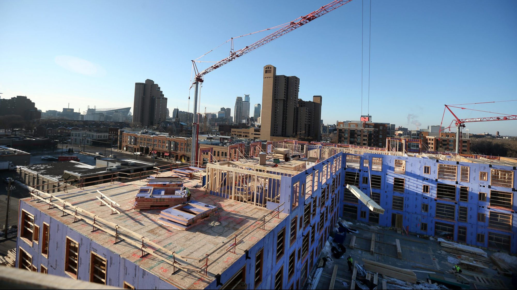 Nordhaus apartment building Minneapolis