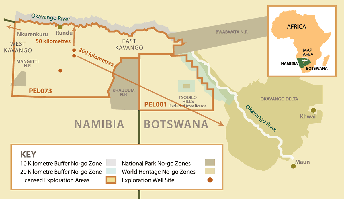 A Big Oil project in Africa threatens fragile Okavango region