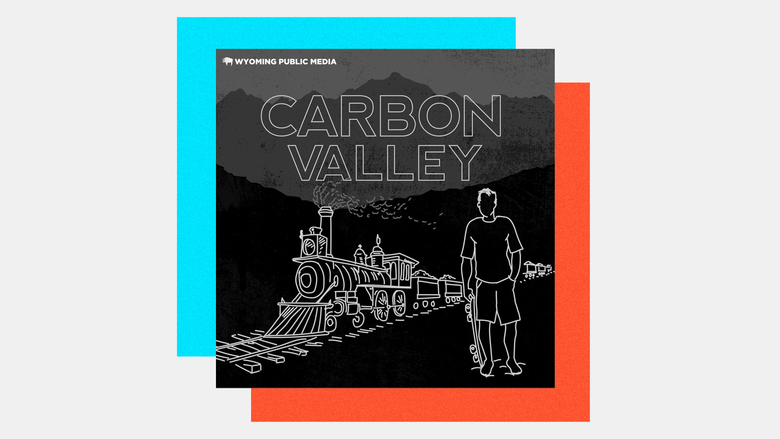 black and white image of a train hauling coal