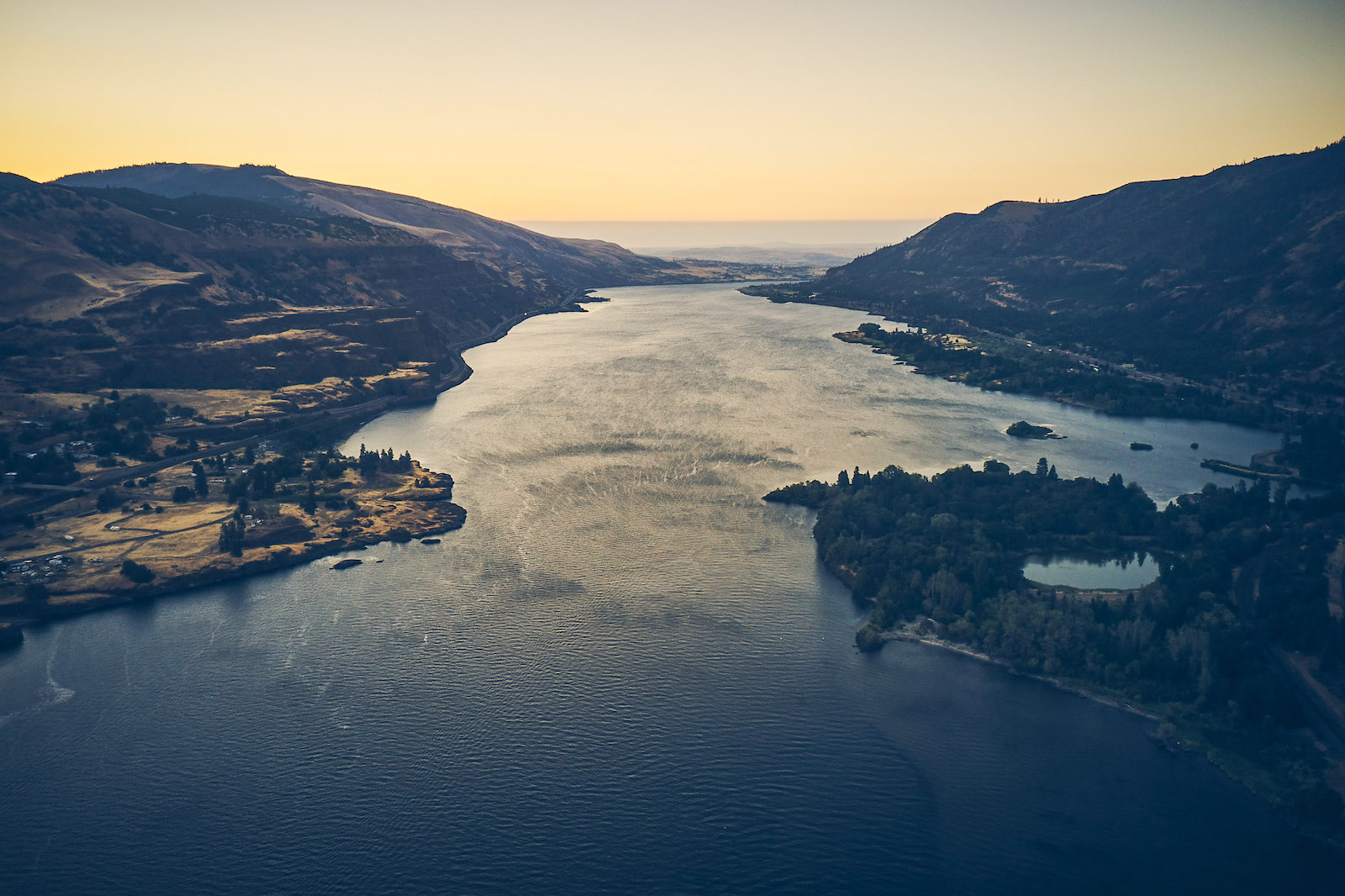 Columbia River Squally Point