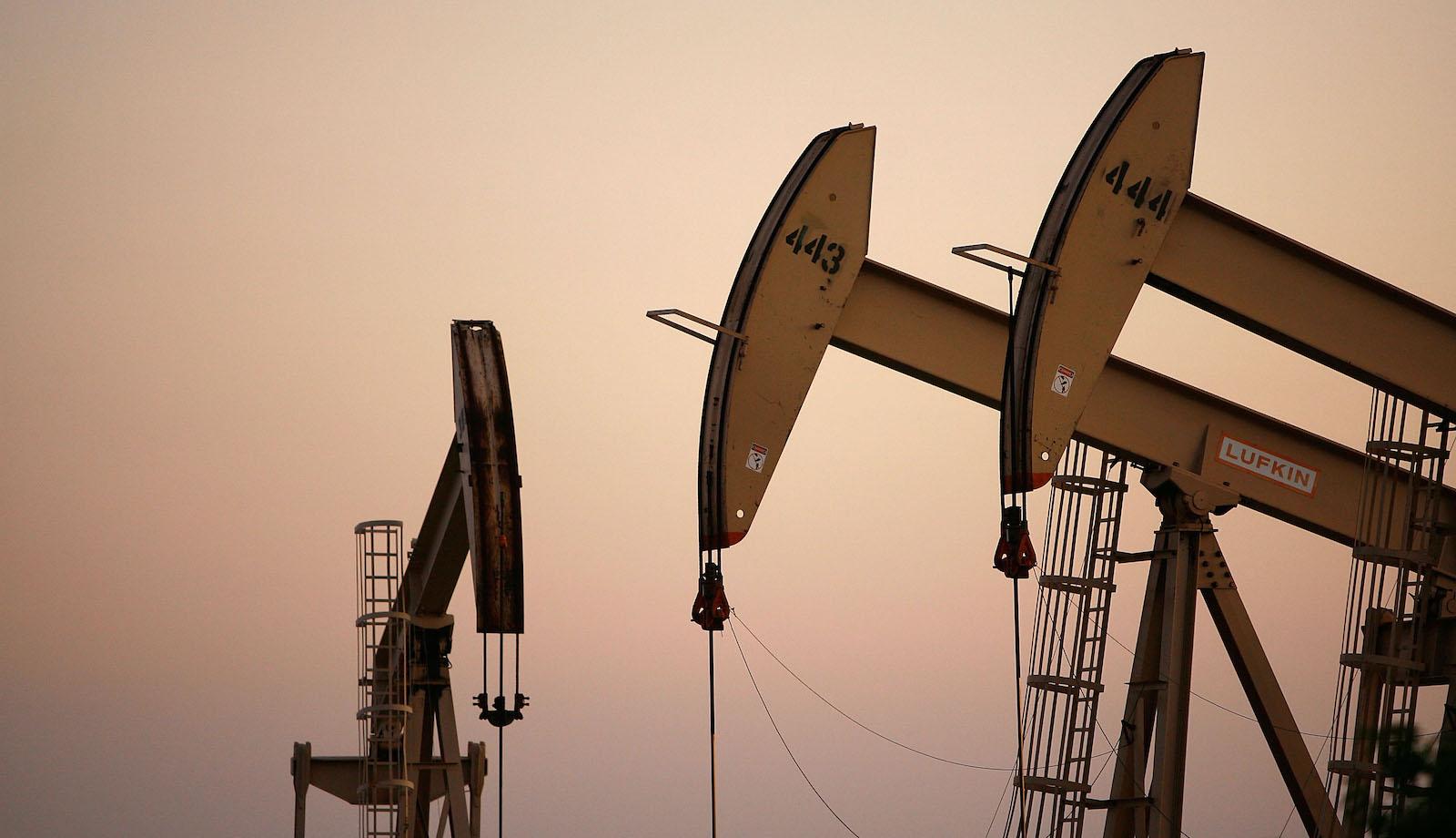 Oil rigs in culver city.