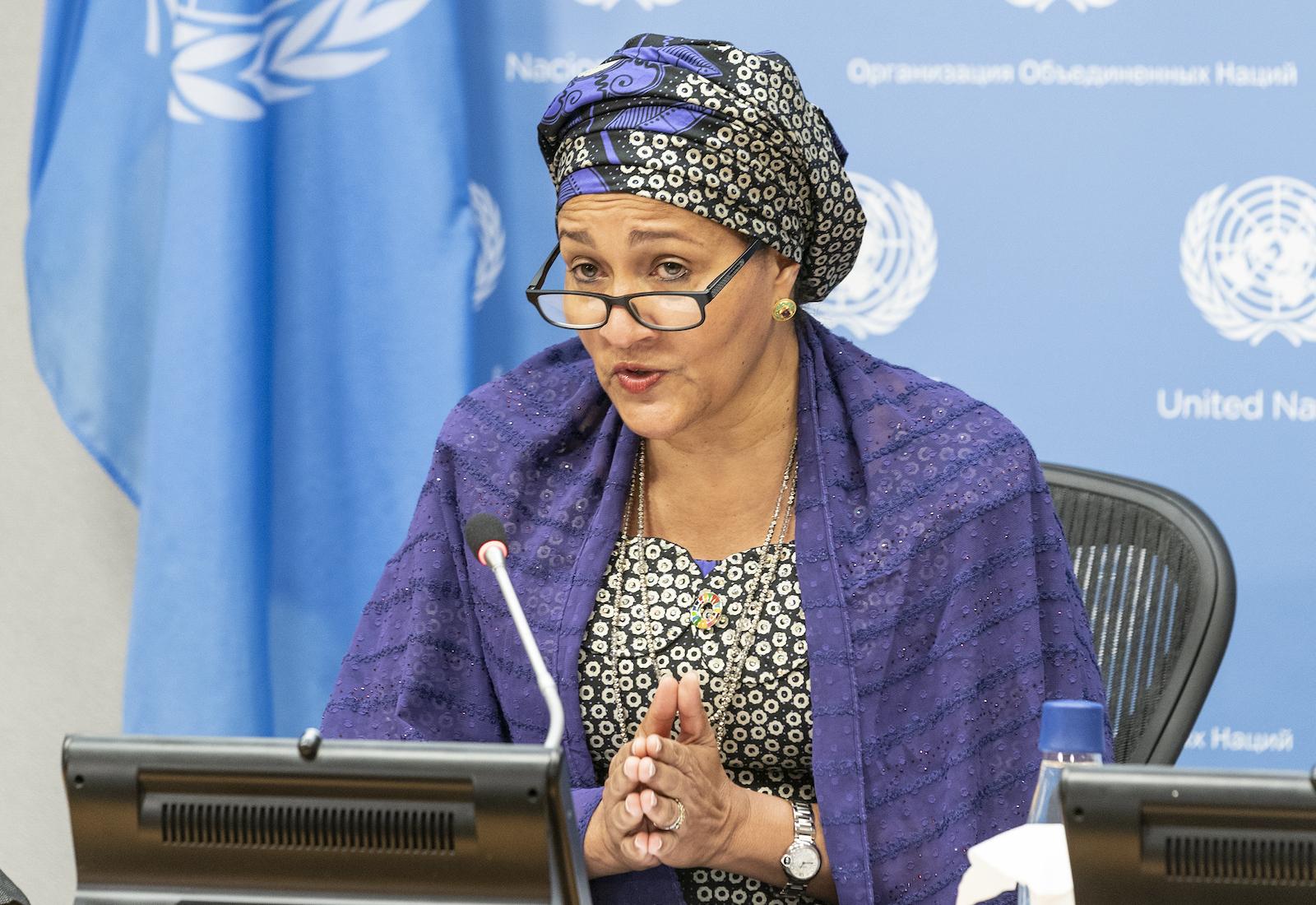 Amina Mohammed at the U.N. Food Systems Summit