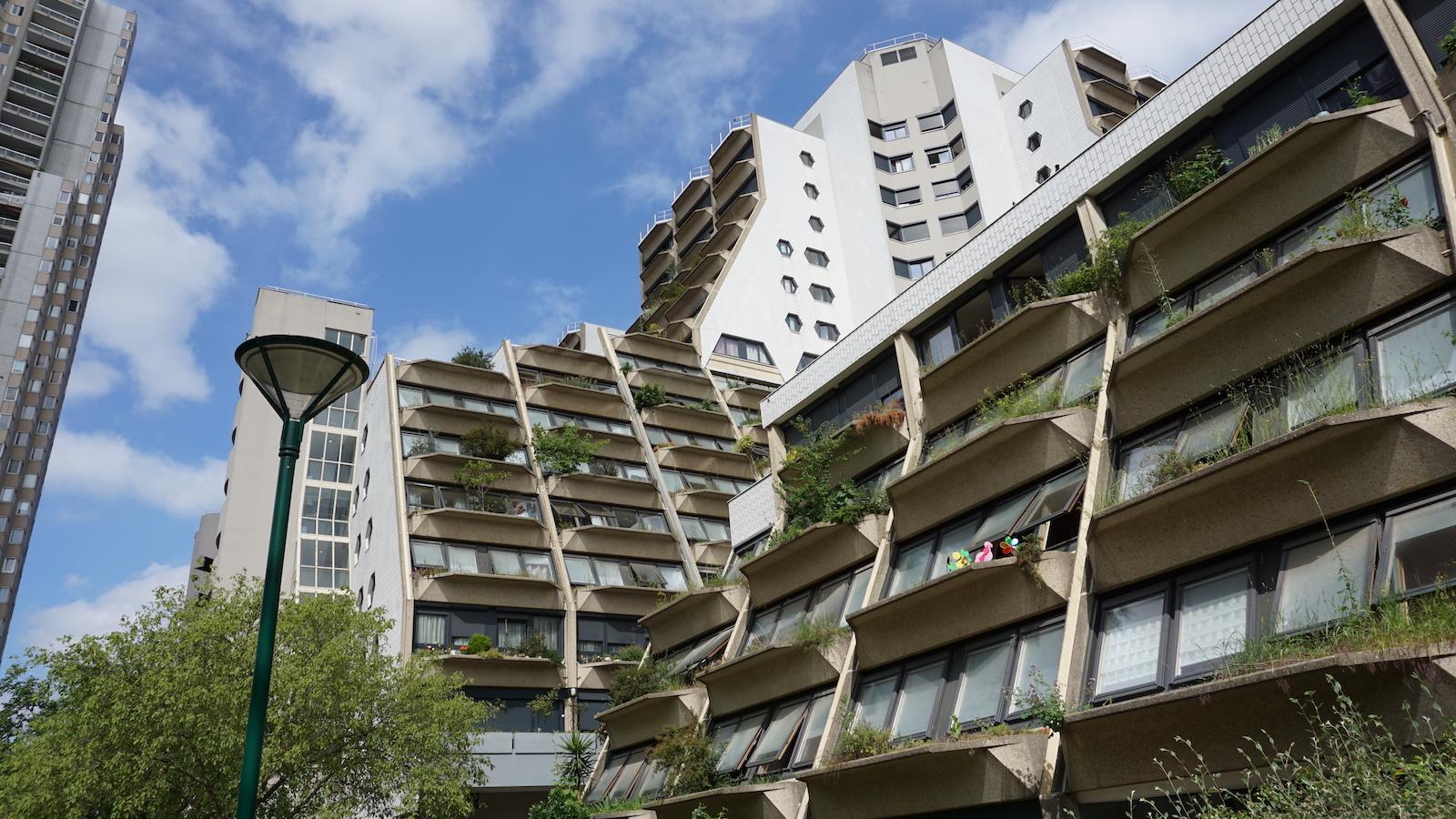 Paris public housing.